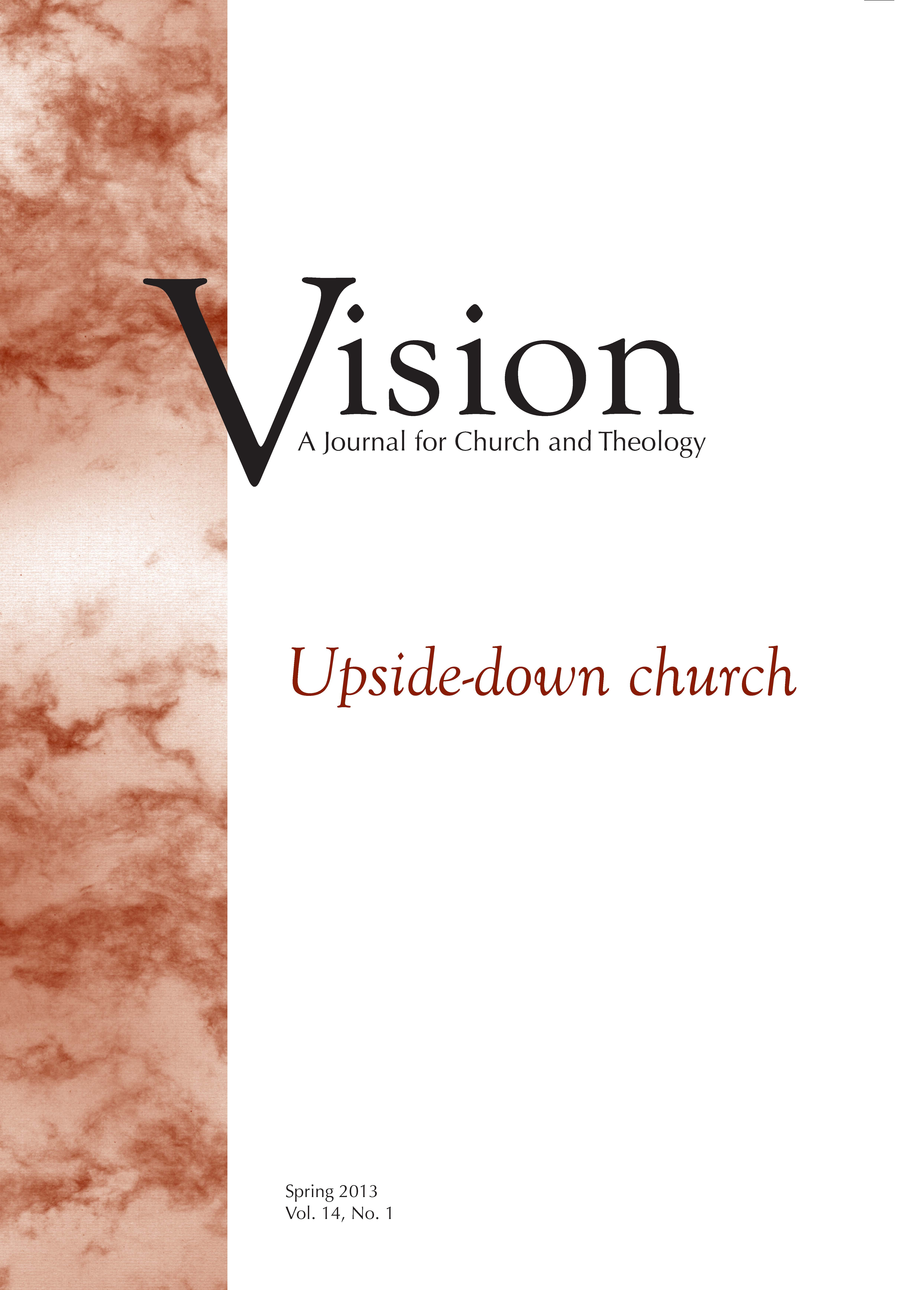 vision cover upside-down church