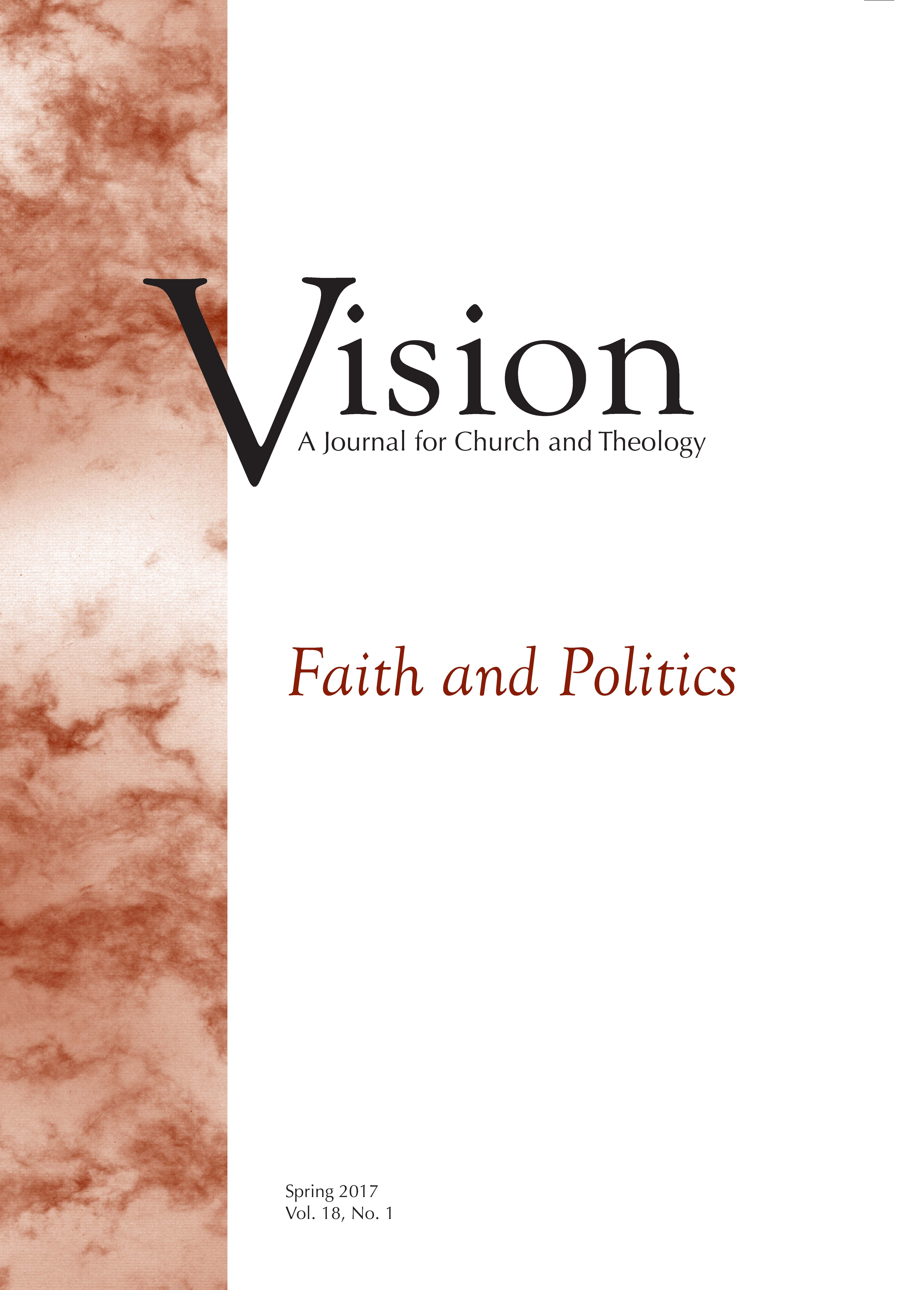 vision cover faith and politics